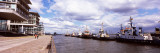 Tugboats in the River, Hamburg Harbour, Elbe River, Hamburg, Germany Photographic Print