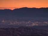 Coachella Valley And Palm Springs From Key's View, Joshua Tree National Park, California, USA Photographic Print