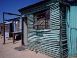 Huts in a Shanty Town, Kibera, Nairobi, Kenya Photographic Print