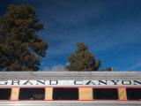 Grand Canyon Tourist Train Car, Grand Canyon Village, Grand Canyon National Park, Arizona, USA Photographic Print