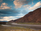 Clouds Over a Landscape, Rio Mendoza Valley, Uspallata, Mendoza Province, Argentina Photographic Print