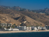 Houses at the Waterfront, Malibu, Los Angeles County, California, USA Photographic Print
