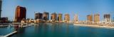 City at the Waterfront, the Pearl-Qatar, Doha, Ad Dawhah, Qatar 2010 Photographic Print