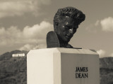 Bust of Actor James Dean, Griffith Park Observatory, Los Angeles, California, USA Photographie