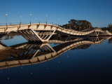 Bridge Across a River, Leonel Viera Bridge, La Barra, Punta Del Este, Maldonado, Uruguay Photographic Print