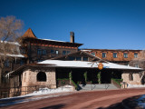 Facade of a Hotel, El Tovar Hotel, Grand Canyon Village, Grand Canyon National Park, Arizona, USA Photographic Print