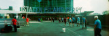 Commuters in Front of a Ferry Terminal, Staten Island Ferry, New York City, New York State, USA Photographic Print