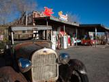 Rusty Car at Old Route 66 Visitor Centre, Route 66, Hackberry, Arizona, USA Reprodukcja zdjęcia
