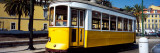 Cable Car in a City, Lisbon, Portugal Photographic Print