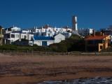 Houses in a Town, Jose Ignacio, Maldonado, Uruguay Photographic Print
