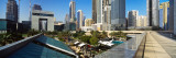 Skyscrapers in a City, Dubai, United Arab Emirates Fotografisk trykk