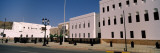 White Houses at the Roadside, Muscat, Oman Photographic Print