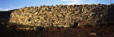 Stone Wall in a Field, Saunders Island, Falkland Islands Photographic Print