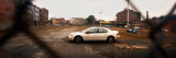 Car Parked in a Parking Lot, Williamsburg, Brooklyn, New York City, New York State, USA Photographic Print