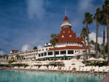 Swimming Pool in a Hotel, Hotel Del Coronado, Coronado, San Diego County, California, USA Photographic Print