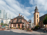 Church in a City, St. Catherine's Church, Hauptwache, Frankfurt, Hesse, Germany Photographic Print