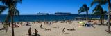 Tourists on the Beach, Cannes, Alpes-Maritimes, Provence-Alpes-Cote D'Azur, France Photographic Print