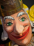 Close-Up of a Clown Mask, Museo Del Carnaval, Montevideo, Uruguay Photographic Print