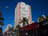 Buildings in a City, Avenida Juan Gorlero, Punta Del Este, Maldonado, Uruguay Photographic Print