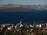 High Angle View of a Town, San Carlos De Bariloche, Rio Negro Province, Patagonia, Argentina Photographic Print
