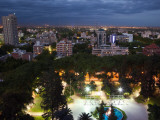 High Angle View of a City, Mendoza, Argentina Photographic Print