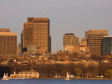 Buildings at the Waterfront, Charles River, Boston, Massachusetts, USA Photographic Print