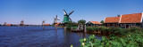 Open Air Museum at the Waterfront, Zaanse Schans, Zaanstad, North Holland, Netherlands Photographic Print