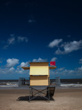 Lifeguard Hut on the Beach, Carrasco Beach, Carrasco, Montevideo, Uruguay Photographic Print