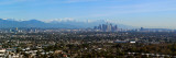 City with Mountains in the Background, Los Angeles, California, USA 2010 Photographic Print