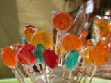 Close-Up of Lollipops, Hippie Market, San Carlos De Bariloche, Rio Negro Province, Patagonia Photographic Print