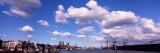 View of a Harbor, Hamburg Harbour, Elbe River, Hamburg, Germany Photographic Print