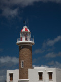 Low Angle View of a Lighthouse, Punta Brava Lighthouse, Montevideo, Uruguay Photographic Print