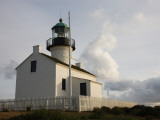 Low Angle View of a Lighthouse, Old Point Loma Lighthouse, Cabrillo National Monument Photographic Print