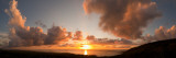 Sunset Over the Sea, Kona Coast, Kealakekua Bay, Hawaii, USA Photographic Print