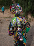 Child Wearing Costume in a Carnival, Tilcara, Quebrada De Humahuaca, Argentina Photographic Print