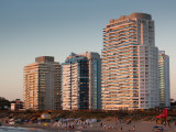 Buildings in a City, Millennium Tower, Playa Mansa, Punta Del Este, Maldonado, Uruguay Photographic Print