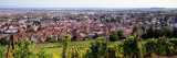 High Angle View of a Village, Riquewihr, Alsace, France Photographic Print