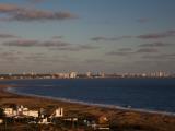 Buildings at the Waterfront, Rio De La Plata, Punta Ballena, Punta Del Este, Maldonado, Uruguay Photographic Print