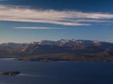 Island in a Lake, Lake Nahuel Huapi, San Carlos De Bariloche, Rio Negro Province, Patagonia Photographic Print