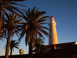 Low Angle View of a Lighthouse, Punta Del Este, Maldonado, Uruguay Photographic Print