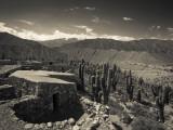 Ruins of a Fortress, Pucara De Tilcara, Tilcara, Quebrada De Humahuaca, Argentina Photographic Print