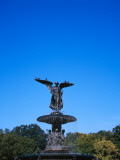 Fountain in a Park, Bethesda Fountain, Central Park, Manhattan, New York City, New York State, USA Photographic Print