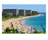 Kaanapali Maui Coastline Photographic Print by Chris Burns