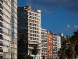 Apartments in a City, Playa Pocitos, Pocitos, Montevideo, Uruguay Photographic Print