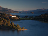 Hotel at the Lakeside, Llao Llao Hotel, Lake Nahuel Huapi, San Carlos De Bariloche Photographic Print