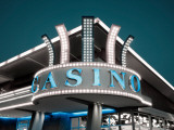 Low Angle View of a Casino, Esquel Casino, Esquel, Chubut Province, Patagonia, Argentina Photographic Print