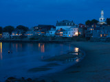 Buildings at the Waterfront, Front Beach, Rockport, Cape Ann, Massachusetts, USA Photographic Print
