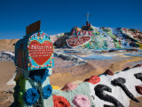Cultural Site Near a Hill, Salvation Mountain, Imperial County, California, USA Photographic Print
