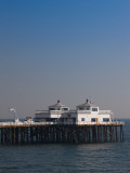 Pier in the Sea, Malibu Pier, Malibu, Los Angeles County, California, USA Photographic Print