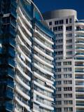 Condominiums in a City, Millennium Tower, Beverly Tower, Punta Del Este, Maldonado, Uruguay Photographic Print
